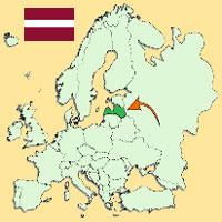 el idioma letonia: